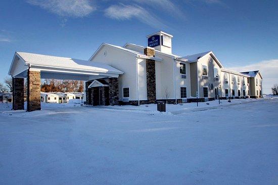 Rugby, North Dakota: Exterior