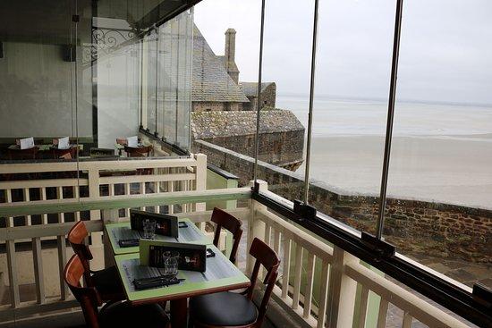 Restaurant Les Terrasses de la Baie, Mont-St-Michel ...