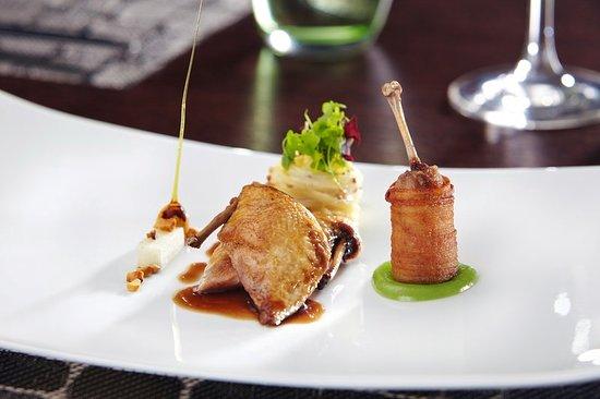 Langshott Manor Hotel Gatwick: Restaurant