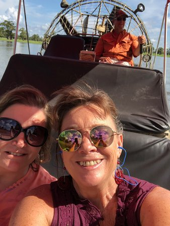 Atchafalaya Basin Landing & Marina: Our private tour! It was a blast!