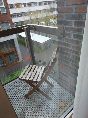 Amadi Park Hotel: The balcony