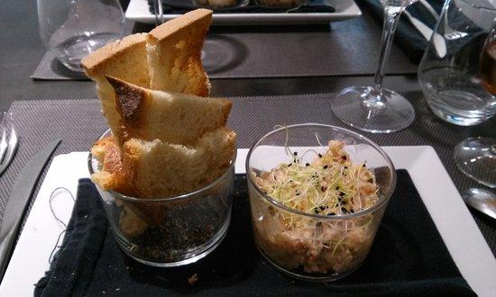 Le Homard Frites : Les rillettes de crustacés du chef