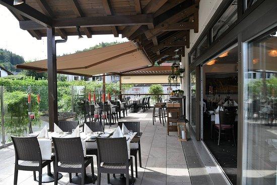 Magenwil, Sveits: Neue Terrasse