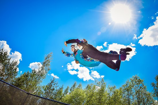 Sigulda, Lettonie : Everyone can fly!