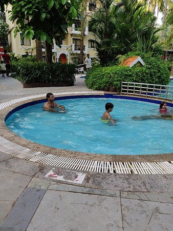 1 Km from Candolim beach ...Good resort