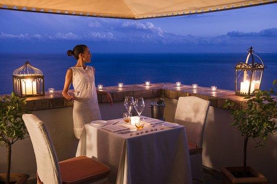 Hotel Villa Carlotta: Restaurant
