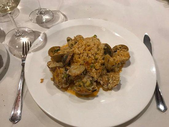 Vedra, Испания: arroz con almejas