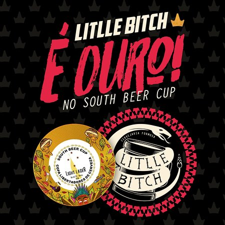 Francisco Beltrao: Medalha de OURO com a Little Bitch na South Beer Cup!!