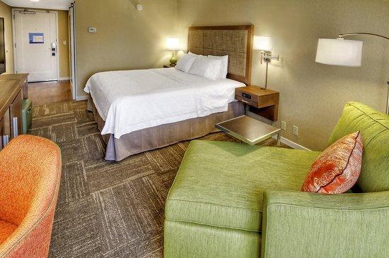Hampton Inn & Suites Asheville-I-26: Guest room