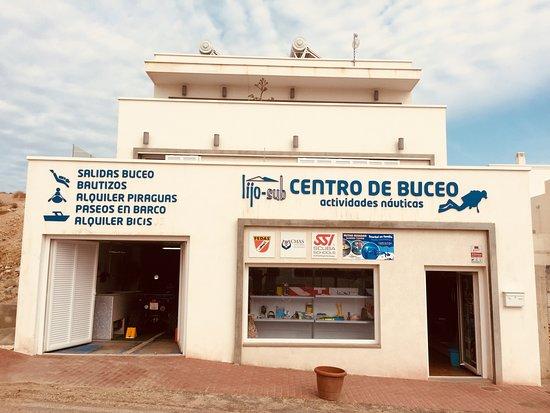 Almería, Espagne : Centro de buceo