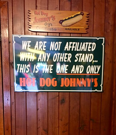 Hot Dog Johnny's: The One and Only !