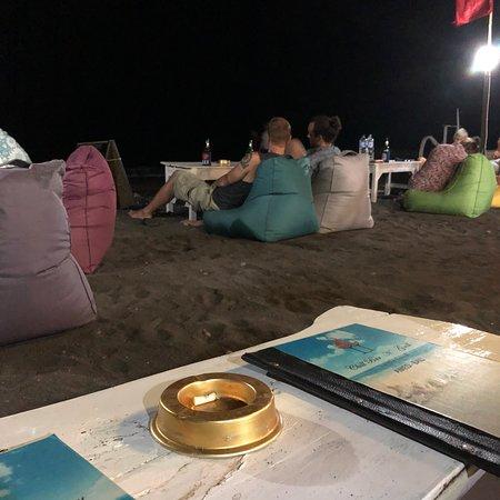 Joli spot sur la plage