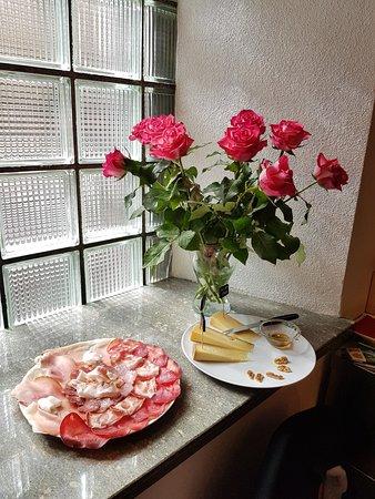 San Bernardino, Switzerland: Affettato e formaggi