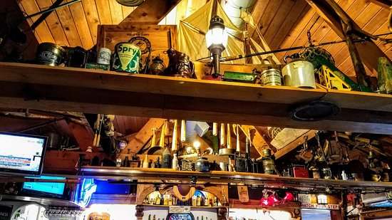 Rusarie S Marconi Beach Restaurant Rafters Are Full Of Amazing Stuff