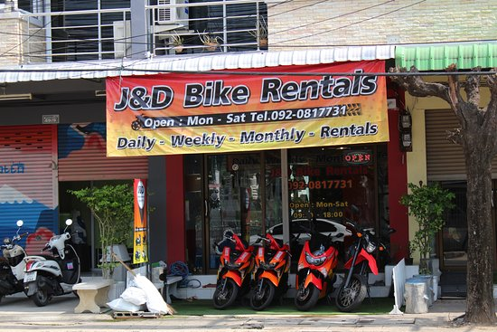 Buriram, Thailand: Front of shop