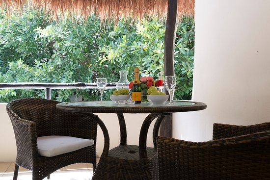 كلوب يبو هوتل: Balcón de habitación Treetop.