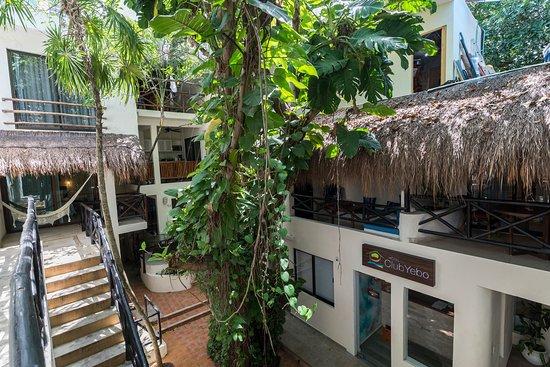 كلوب يبو هوتل: Hotel en el centro de Playa del Carmen