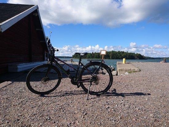 Bike Rental - by Carfield: Själö Island harbour&Carfiled bike