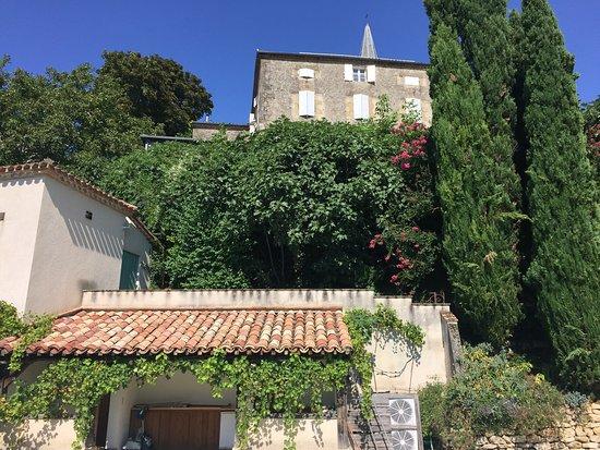Cuq Toulza, France: House and garden