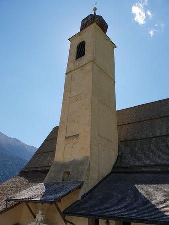 MAZIA à une dizaine de kilomètres à l'est  de Sluderno Schluderns, dans la montagne, Saint  Flor