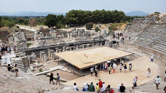 Efes Antik Tiyatro Selçuk Izmir Photo De Efes Antik Kenti