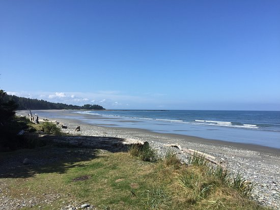 View Of Agate Beach From Campground Picture Met Graham Island Tripadvisor