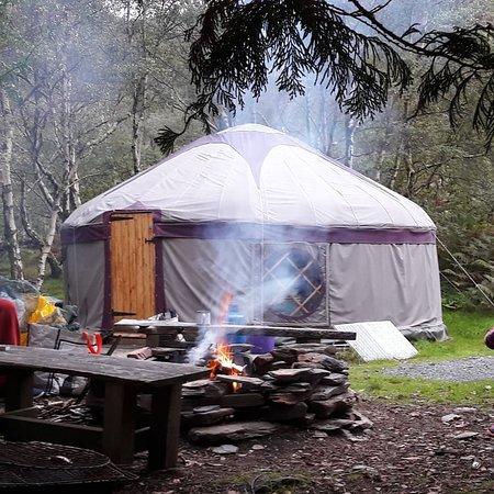 Arthog, UK: Large Yurt