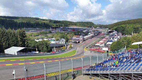 Circuito De Spa Francorchamps : A view from the gold 3 grandstand picture of circuit de spa