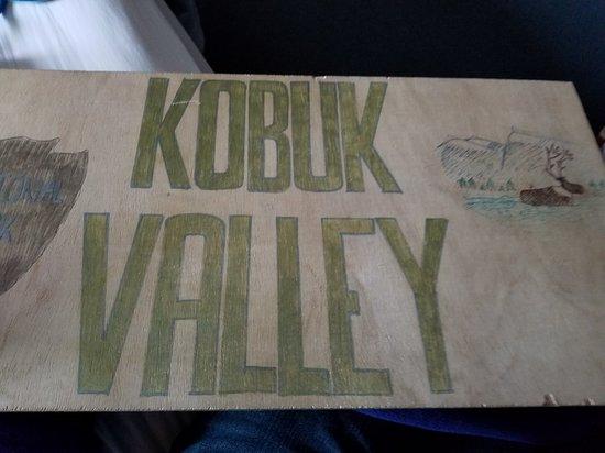 Kobuk Valley National Park, Αλάσκα: Park sign to take along