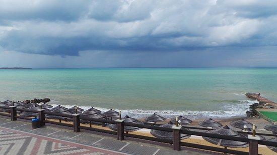Peschanoye: Вид на море :)