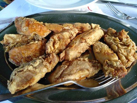 Londa, Olaszország: Funghi fritti