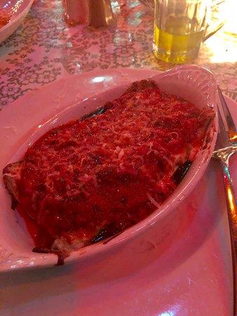 The Pink Door: Lasagne