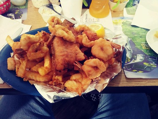 Seafood Kitchen: Catfish and Shrimp