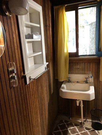 Cedarville, MI: Bathroom cabin 7