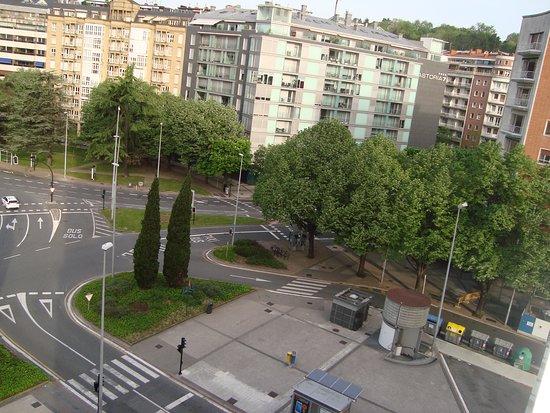 Silken Amara Plaza Hotel : Vista desde habitación