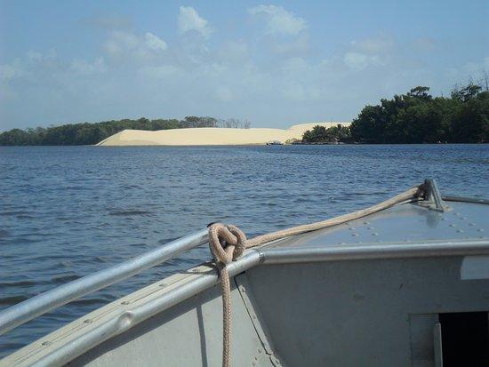 Rio Preguiças: Dunas