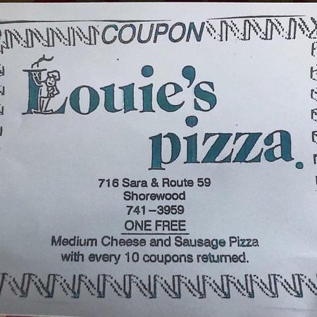 Shorewood, IL : Louie's Pizza