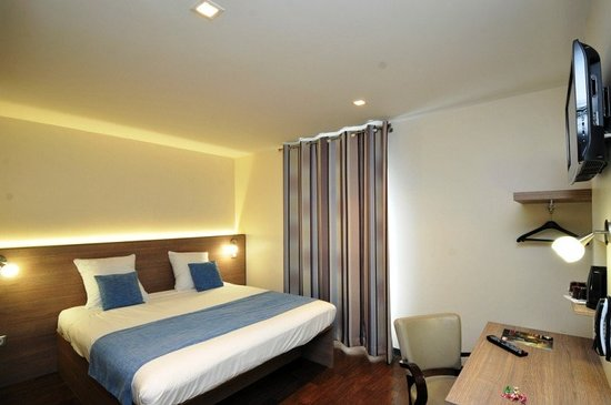 Saint-Brice-Courcelles, فرنسا: Guest room