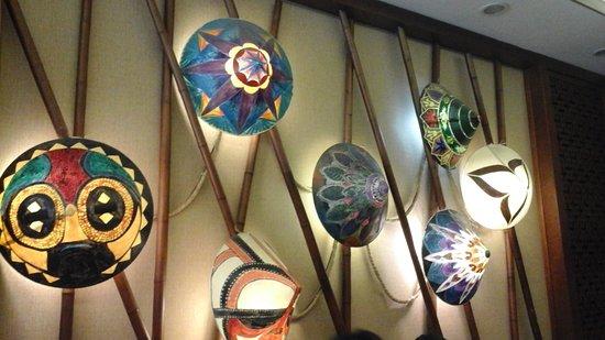 Dalcheeni: Interior decoratiin