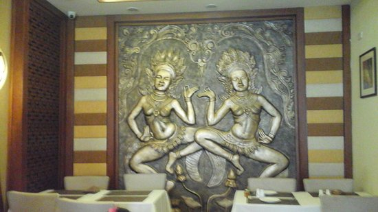 Dalcheeni: Interior of the restaurant