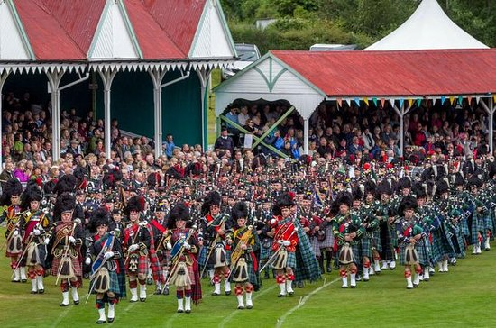 Scottish Highland Games Day Trip from...