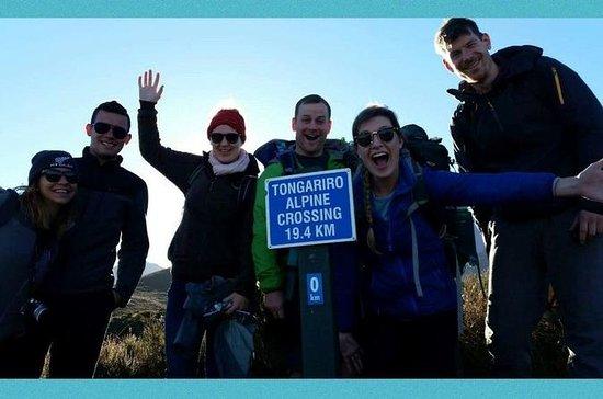 Tongariro Crossing Retur Transfer fra...
