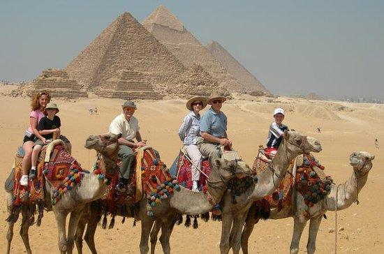 Heldagstur til Giza-pyramiderne...
