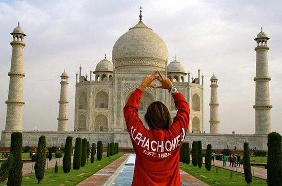 Samme dag Agra-tur fra Delhi med bil