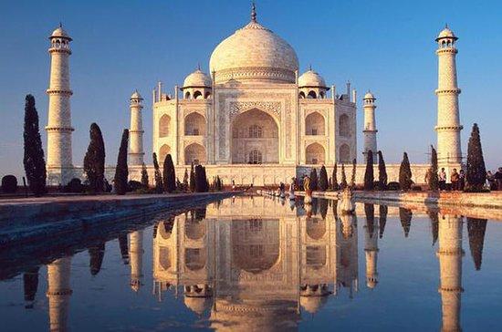Samme dag Soloppgang Taj Mahal Tour fra...