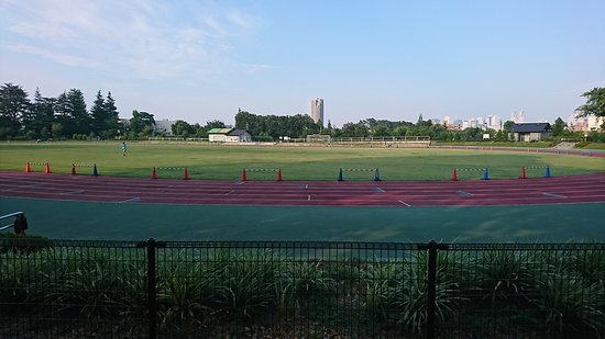 和田堀公園, 済美山運動場