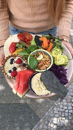 AtayaCaffe Vegan Restaurant: Breakfast Platter
