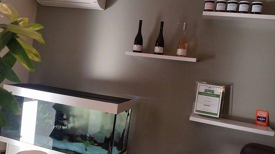 Hotel Synaya : aquarium