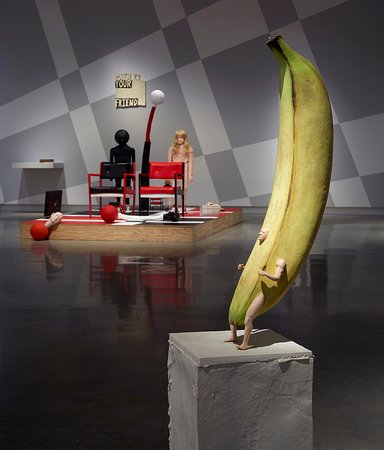 Installation view,'No one is watching you: Ronnie van Hout', Buxton Contemporary