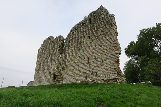 Greenhead, UK: Front of Thirlwall Castle